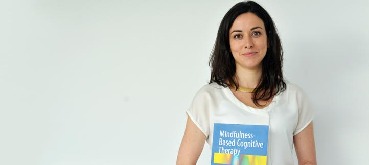 La doctora Marian González participó en el congreso internacional de Mindfulness y presentó un nuevo libro