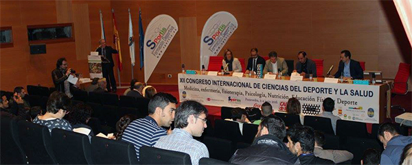 Tres doctores representaron a UNEATLANTICO en el XII Congreso Internacional del Deporte y la Salud