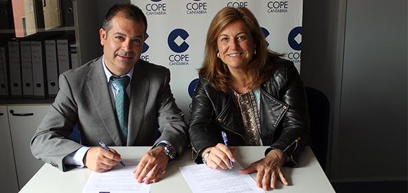 La Universidad Europea del Atlántico firma un convenio de cooperación educativa con Cope Cantabria