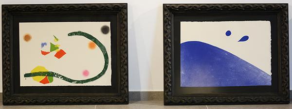 UNEATLANTICO inaugura el próximo jueves una exposición de 32 grabados de Joan Miró en Santillana del Mar