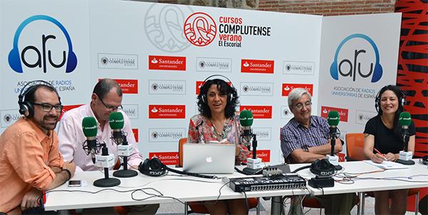 Patricia Martínez participa en el taller de radios universitarias españolas y latinoamericanas celebrado en El Escorial