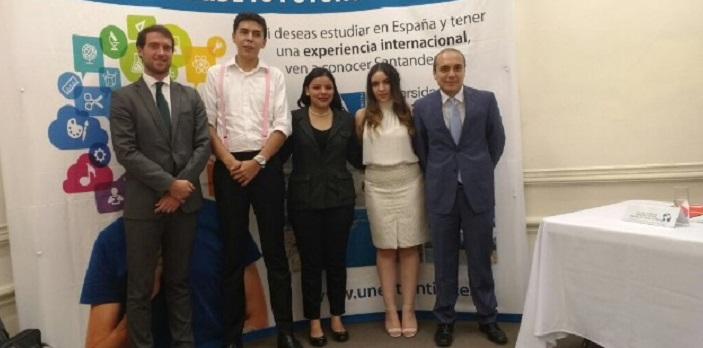 La embajada española en México recibió a los estudiantes de ese país que se incorporan a la Universidad Europea del Atlántico