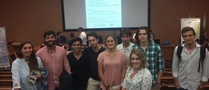 Estudiantes de Ingeniería de Organización Industrial asisten a la reunión anual de la Sociedad Nuclear Española
