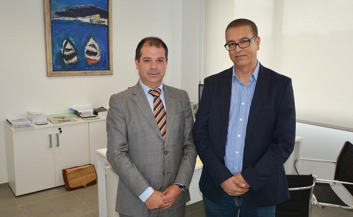 El profesor Bouzekri Touri, de la Universidad Hassan II visitó el campus y abrió cauces de colaboración con UNEATLANTICO