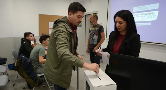 Los estudiantes culminaron el proceso de elecciones a delegados y subdelegados de clase