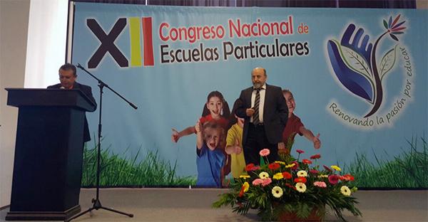 Federico Fernández interviene en el XII Congreso Nacional de Escuelas Privadas de México