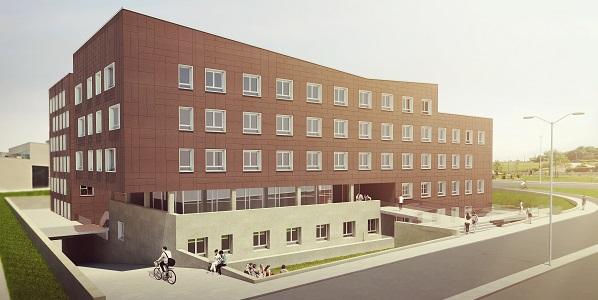 Avanzan a buen ritmo las obras de la nueva residencia para estudiantes, profesores e investigadores