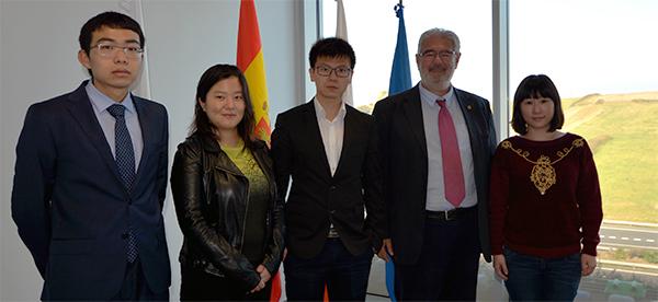 UNEATLANTICO estudia nuevas vías de colaboración para ampliar su red de contactos en China