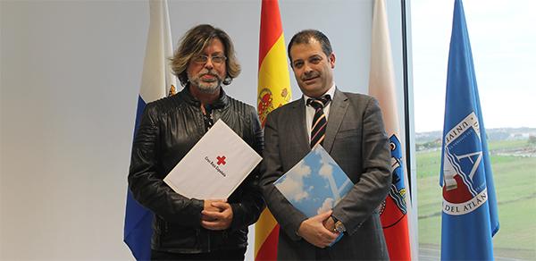 La Oficina de Cooperación y Acción Social (OCAS) de UNEATLANTICO firma un acuerdo de colaboración con Cruz Roja Cantabria