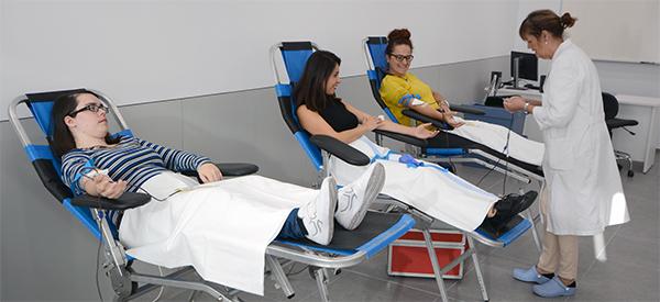UNEATLANTICO acoge hoy en su campus una jornada de donación de sangre