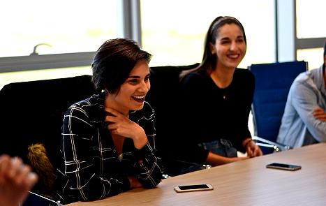 Entrevistamos a Ruth Lobera, que ha resultado elegida Delegada de Alumnos por segundo año consecutivo