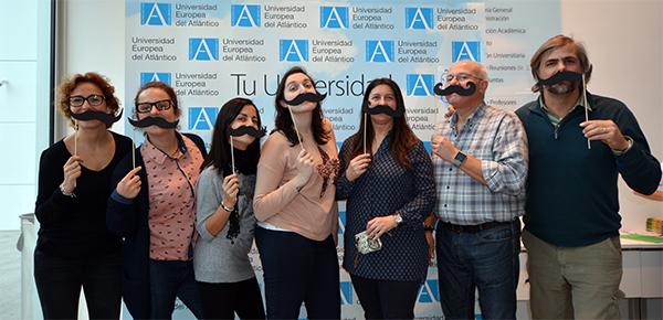 La comunidad universitaria de UNEATLANTICO dona casi 700 euros a la Fundación Movember