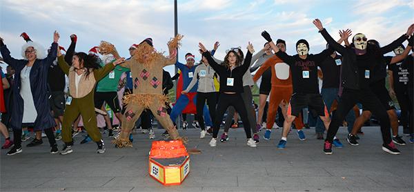Diversión y deporte se unen en la III San Silvestre Solidaria de UNEATLANTICO
