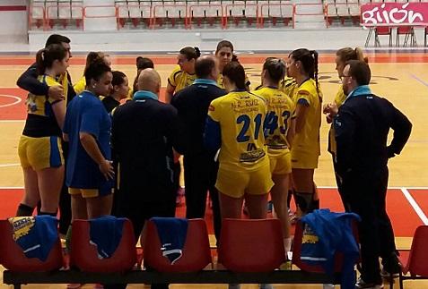 El UNEATLANTICO Pereda rompe su buena racha de resultados con una derrota por 26-21 en Gijón