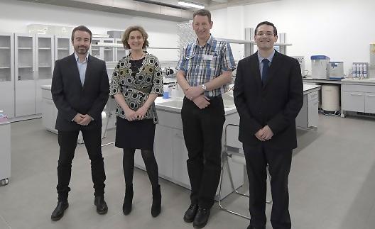 Representantes de la HAS University holandesa y empresarios del sector público sueco visitaron el campus