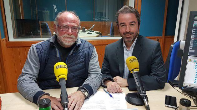 """El profesor Juan Luis Vidal debatió en el programa """"La Ventana de Cantabria"""", de la cadena SER, sobre la huelga en Educación"""
