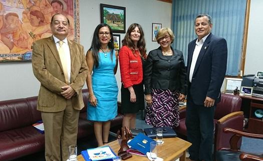 UNEATLANTICO firma dos convenios de colaboración con universidades públicas panameñas
