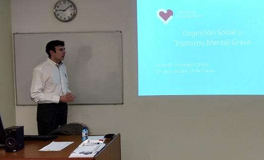 El profesor David Gil impartió un curso en el Parc Sanitari Sant Joan de Déu, de Sant Boi de Llobregat