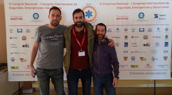 Profesores de UNEATLANTICO participaron en el Congreso de Seguridad, Emergencias y Socorrismo