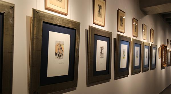 Eva Díaz Tezanos inaugura mañana en UNEATLANTICO la exposición de Goya y Dalí 'Del capricho al disparate'