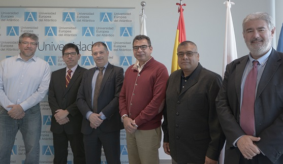 Responsables del Instituto Politécnico Nacional mexicano visitaron el campus y mantuvieron una reunión de trabajo