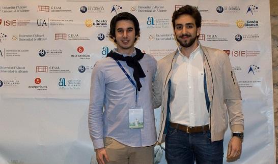 Dos estudiantes de Administración y Dirección de Empresas representaron a UNEATLANTICO en el congreso de AEALCEE