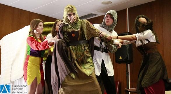 """El grupo de teatro de UNEATLANTICO representó con gran entusiasmo """"La venganza de Don Mendo"""""""