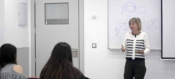 La subdirectora de El Diario Montañés comparte su experiencia profesional con los alumnos de Comunicación de UNEATLANTICO