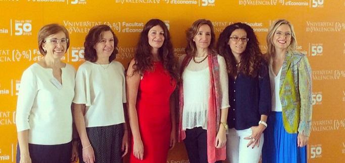 La vicerrectora Silvia Aparicio representó a UNEATLANTICO en la Conferencia Nacional de Decanos de Economía