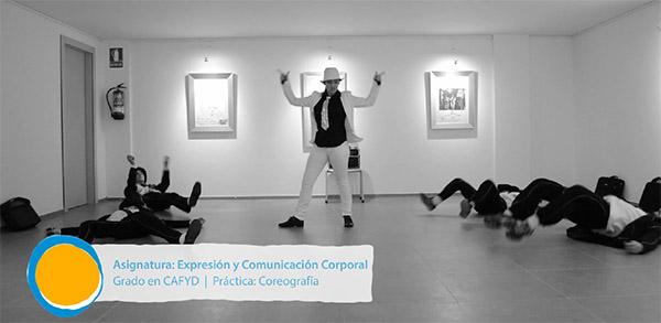 Un video recopila algunos de los mejores trabajos de la asignatura de expresión y comunicación corporal de CAFYD