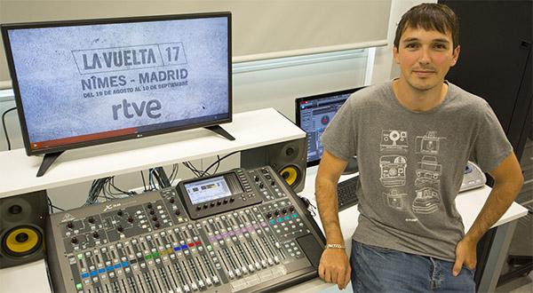 El profesor de Comunicación Audiovisual Nacho Solana dirige la realización del spot de La Vuelta 2017