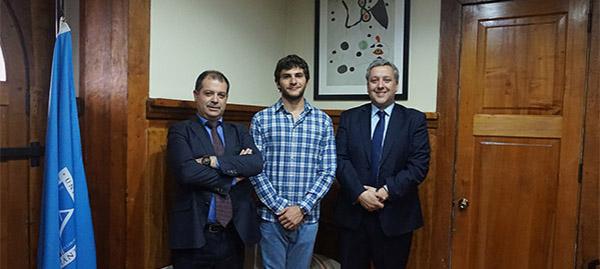 El rector de UNEATLANTICO viaja a Chile, Brasil, Uruguay y Argentina