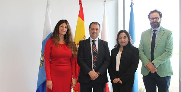 La rectora de la Universidad Franz Tamayo de Bolivia visita el campus de la Universidad Europea del Atlántico
