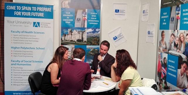 UNEATLANTICO tomó parte en la conferencia anual y en la feria de la Asociación Europea de Educación Internacional