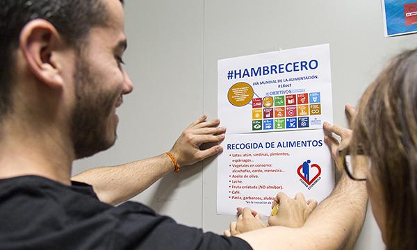 Los alumnos de Nutrición promueven una campaña de recogida de alimentos para la Cocina Económica de Santander