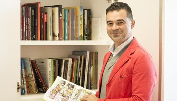 El profesor Gonzalo Silió dona los fondos de la nueva comicteca de UNEATLANTICO, en la que colaborarán tres editoriales