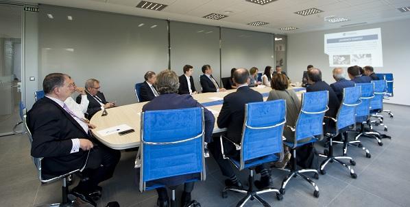 Primera reunión de FIDBAN en UNEATLANTICO antes de su presentación oficial esta tarde en el Hotel Real de Santander