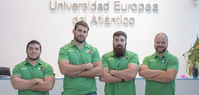 Cuatro jugadores del Senor Independiente Rugby Club cursarán estudios de máster en la Universidad Europea del Atlántico