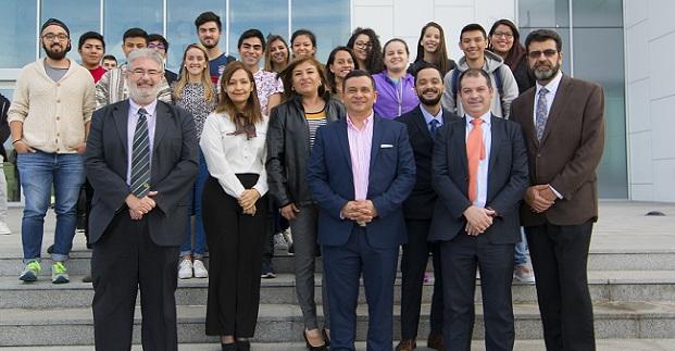 Representantes de la Universidad Mariano Gálvez, de Guatemala, visitaron el campus y la residencia de UNEATLANTICO