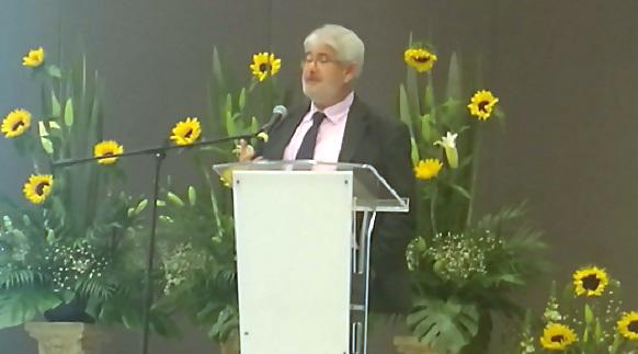 El Secretario General, Roberto Ruíz impartió una ponencia en el Congreso Internacional de Educación de Querétaro
