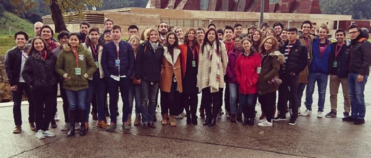 Alumnos de ADE, IOI e Ingeniería Informática visitaron el Centro de Proceso de Datos del Banco Santander