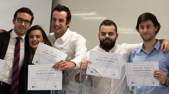 El equipo DAM ganó la liga de debate de UNEATLANTICO, en la que participaron más de medio centenar de estudiantes