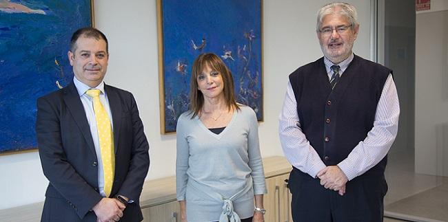 UNEATLANTICO y la Universidad de Belgrano estudian temas de interés común en la visita de su delegada, Cristina Greco