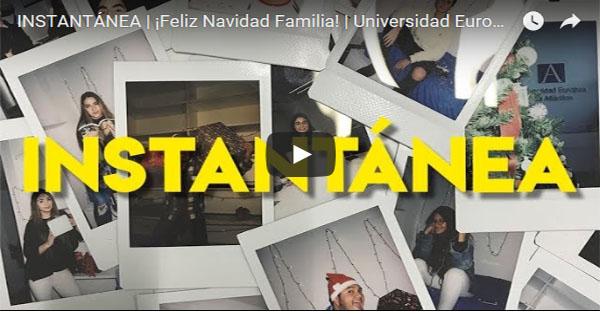 Los alumnos internacionales, protagonistas del video navideño de UNEATLANTICO