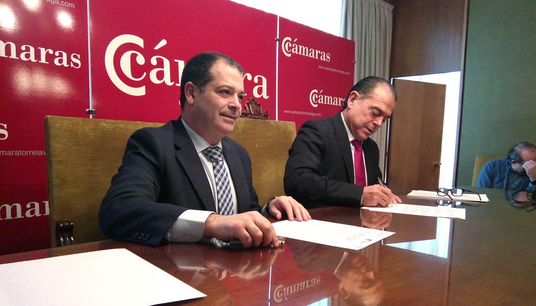 FIDBAN y la Cámara de Torrelavega suscriben un acuerdo de apoyo a emprendedores