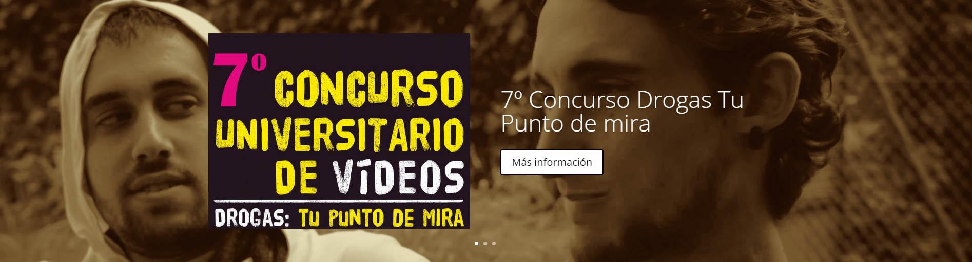 Abierta la convocatoria para el 7º concurso universitario de clipmetrajes 'Drogas: Tu punto de mira'