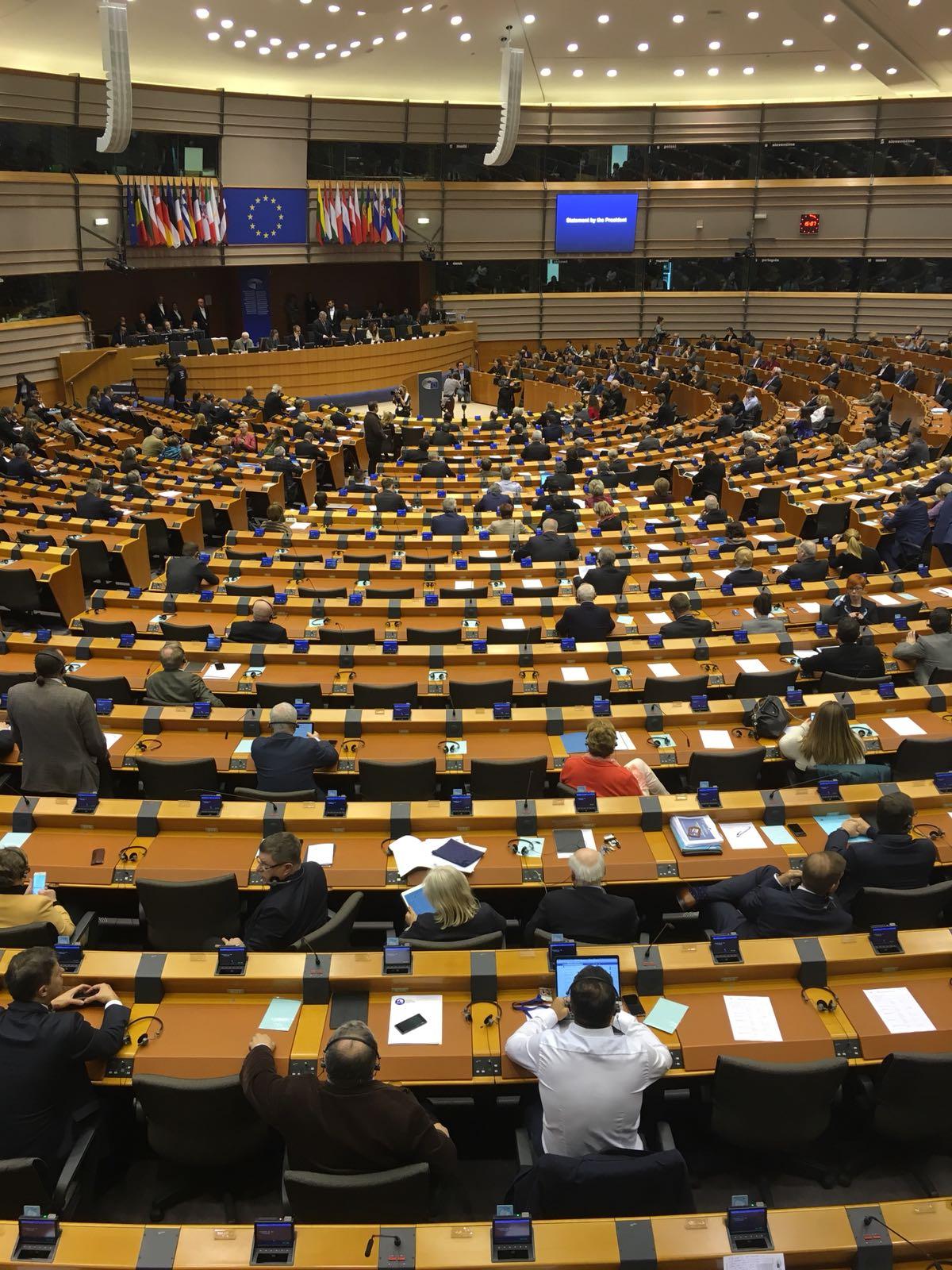 Uneatlantico radio en el parlamento europeo noticias for Radio parlamento streaming