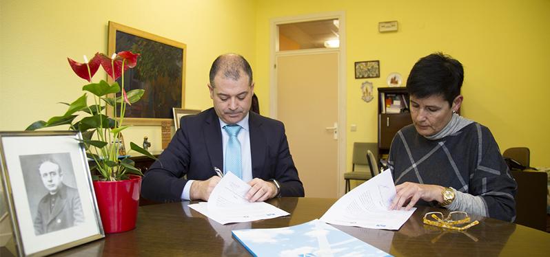 UNEATLANTICO y el Colegio Castroverde colaboran en el desarrollo de acciones formativas