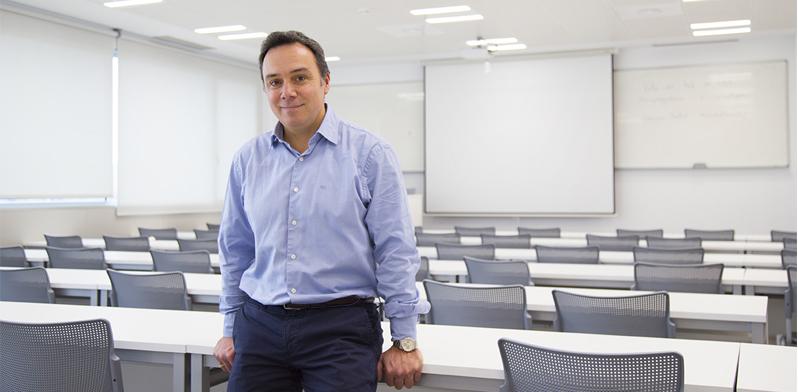 """Óscar Morales: """"Un emprendedor tiene que bajar a la arena y pelear como un gladiador"""""""