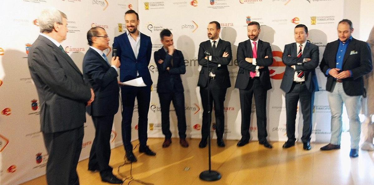 La Cámara de Comercio de Torrelavega presenta en Madrid el I Certamen Abierto de Emprendimiento